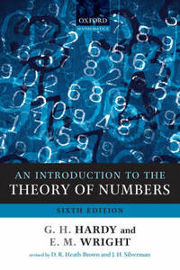 An Introduction to the Theory of Numbers - G. H. Hardy,E. M. Wright - cover