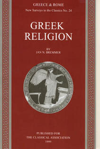 New Surveys in the Classics - Jan N. Bremmer - cover