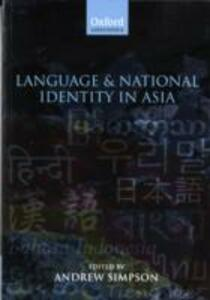 Language and National Identity in Asia - cover