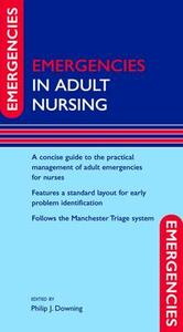 Emergencies in Adult Nursing - cover