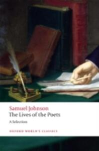 The Lives of the Poets: A Selection - Samuel Johnson - cover