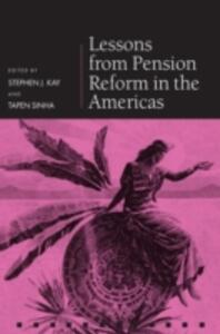 Lessons from Pension Reform in the Americas - cover