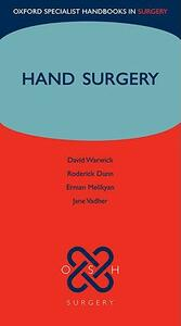 Hand Surgery - David J. Warwick,Jane Vadher,Erman Melikyan - cover