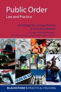 Public Order: Law and Practice - John Beggs,Susannah Rickard,Amy Street - cover
