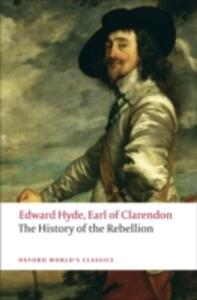 The History of the Rebellion: A new selection - Edward Hyde,Earl of Clarendon - cover