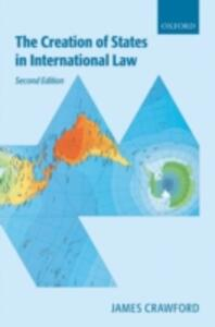 The Creation of States in International Law - James R. Crawford - cover