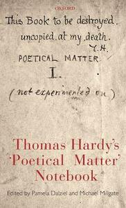 Thomas Hardy's 'Poetical Matter' Notebook - cover
