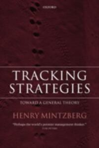 Tracking Strategies: Toward a General Theory - Henry Mintzberg - cover