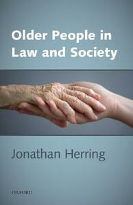 Older People in Law and Society - Jonathan Herring - cover