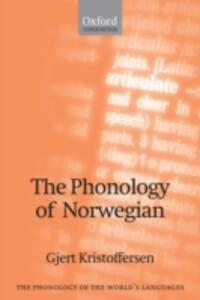 The Phonology of Norwegian - Gjert Kristoffersen - cover