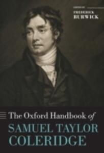 The Oxford Handbook of Samuel Taylor Coleridge - cover