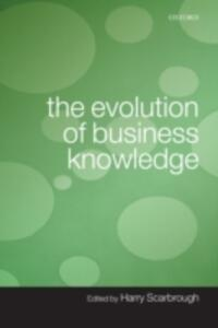 The Evolution of Business Knowledge - cover