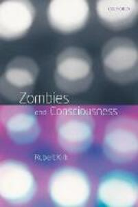 Zombies and Consciousness - Robert Kirk - cover