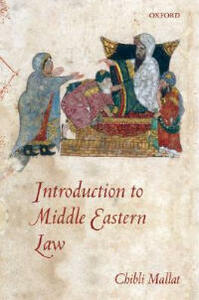 Introduction to Middle Eastern Law - Chibli Mallat - cover
