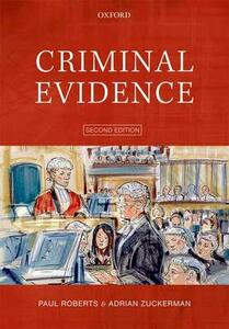 Criminal Evidence - Paul Roberts,Adrian Zuckerman - cover