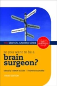 So you want to be a brain surgeon? - cover