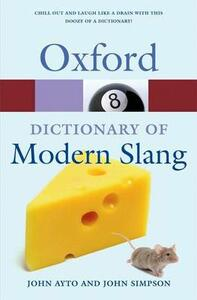 Oxford Dictionary of Modern Slang - cover