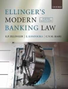 Ellinger's Modern Banking Law - E.P. Ellinger,Eva Lomnicka,C. Hare - cover