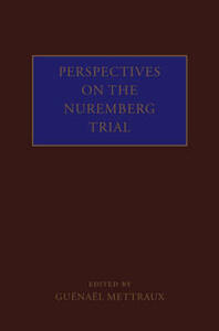 Perspectives on the Nuremberg Trial - cover