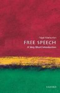 Free Speech: A Very Short Introduction - Nigel Warburton - cover