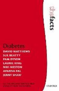 Diabetes - David Matthews,Niki Meston,Pam Dyson - cover