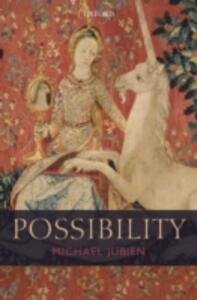 Possibility - Michael Jubien - cover