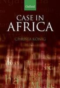 Case in Africa - Christa Konig - cover