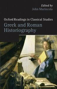 Greek and Roman Historiography - cover