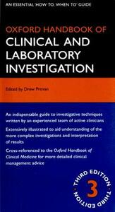 Oxford Handbook of Clinical and Laboratory Investigation - cover