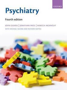 Psychiatry - John Geddes,Jonathan Price,Rebecca McKnight - cover