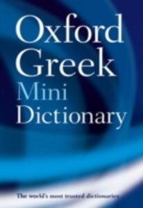 Oxford Greek Mini Dictionary - Oxford Dictionaries - cover