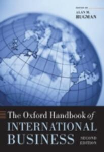 The Oxford Handbook of International Business - cover