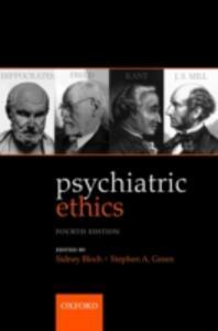Psychiatric Ethics - cover