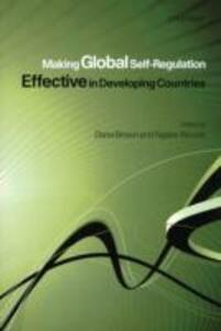 Making Global Self-Regulation Effective in Developing Countries - cover