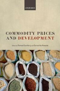 Commodity Prices and Development - cover