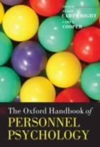 The Oxford Handbook of Personnel Psychology - cover