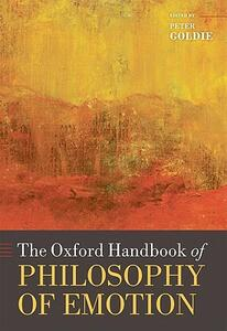 The Oxford Handbook of Philosophy of Emotion - cover