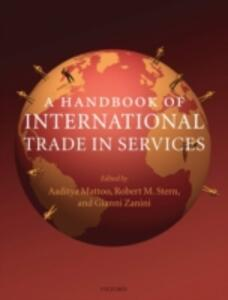 A Handbook of International Trade in Services - cover
