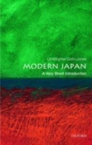 Modern Japan: A Very Short Introduction - Christopher Goto-Jones - cover