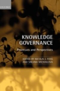 Knowledge Governance: Processes and Perspectives - cover