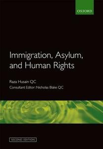 Immigration, Asylum and Human Rights - cover