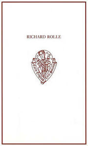 Richard Rolle: Uncollected Prose and Verse, with Related Northern Texts - cover