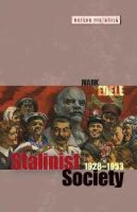 Stalinist Society: 1928-1953 - Mark Edele - cover