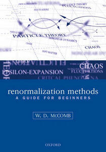 Renormalization Methods: A Guide For Beginners - William David McComb - cover