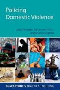 Policing Domestic Violence - Sharon Stratton,Simon Letchford,Laura Richards - cover