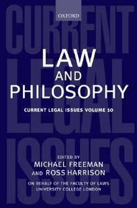 Law and Philosophy - cover