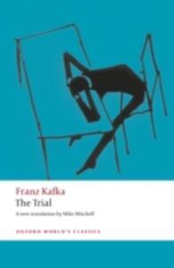 The Trial - Franz Kafka - cover