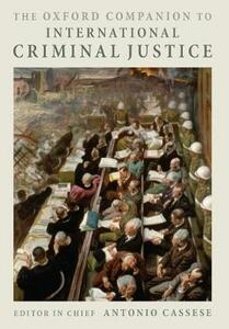 The Oxford Companion to International Criminal Justice - cover
