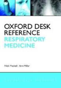 Oxford Desk Reference: Respiratory Medicine - cover