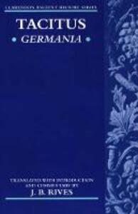 Tacitus: Germania - Cornelius Tacitus - cover